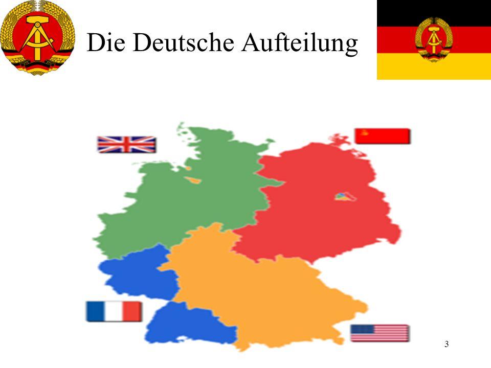 4 1946 Zusammenschluss von KPD und SPD zur SED SED wurde komm.