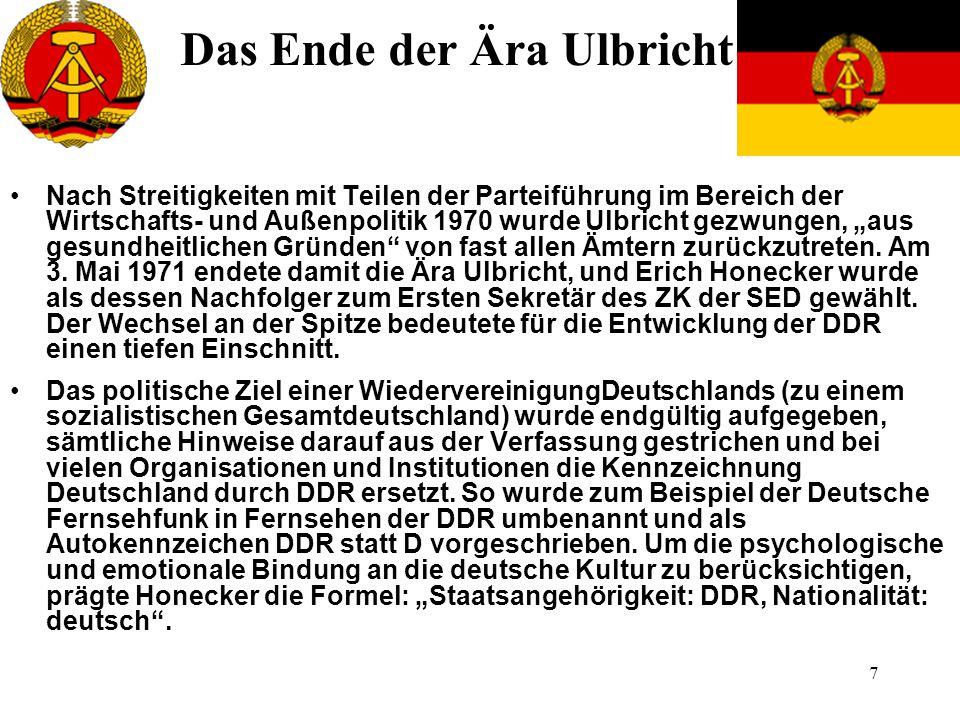 18 Fälschung der Kommunalwahlergebnisse 1989 war Anfang vom Ende der DDR.