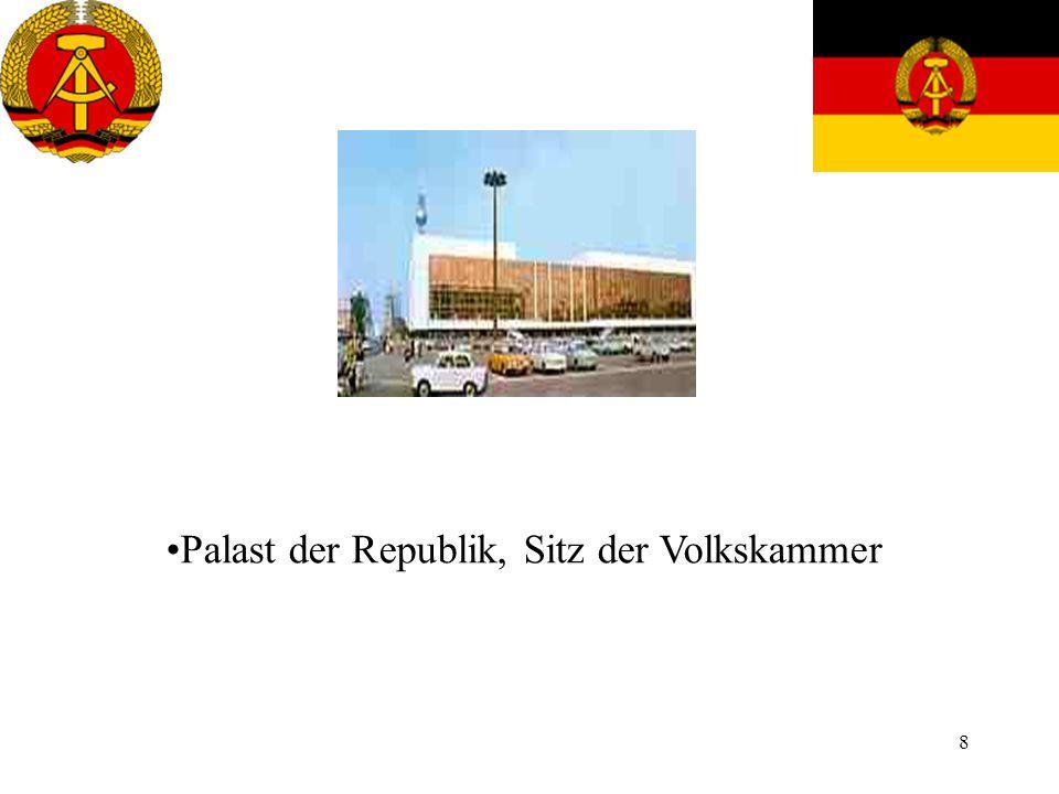 8 Palast der Republik, Sitz der Volkskammer