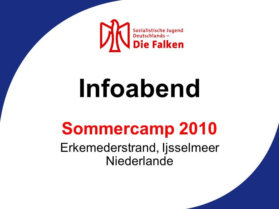 Infoabend Sommercamp 2010 Erkemederstrand, Ijsselmeer Niederlande