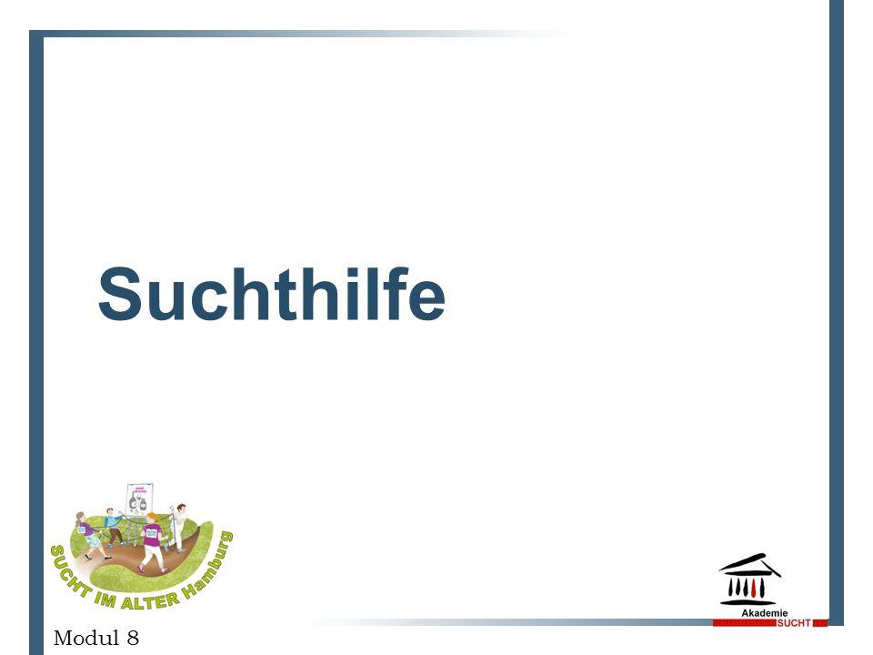 Suchthilfe GESCHÄFTSPLANPRÄSENTATION Modul 8