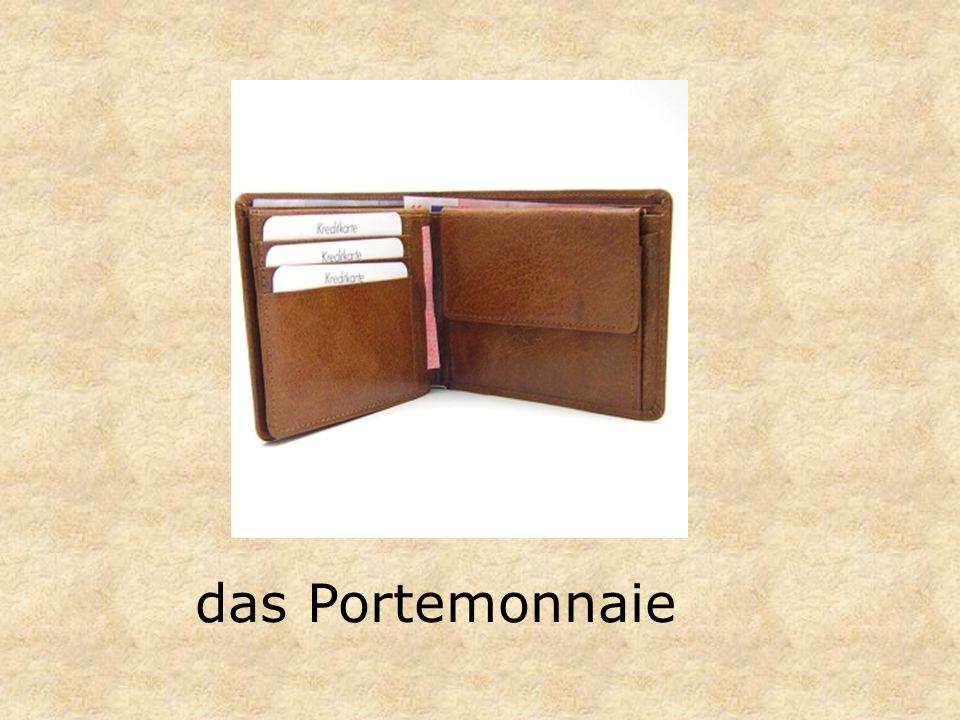 das Portemonnaie