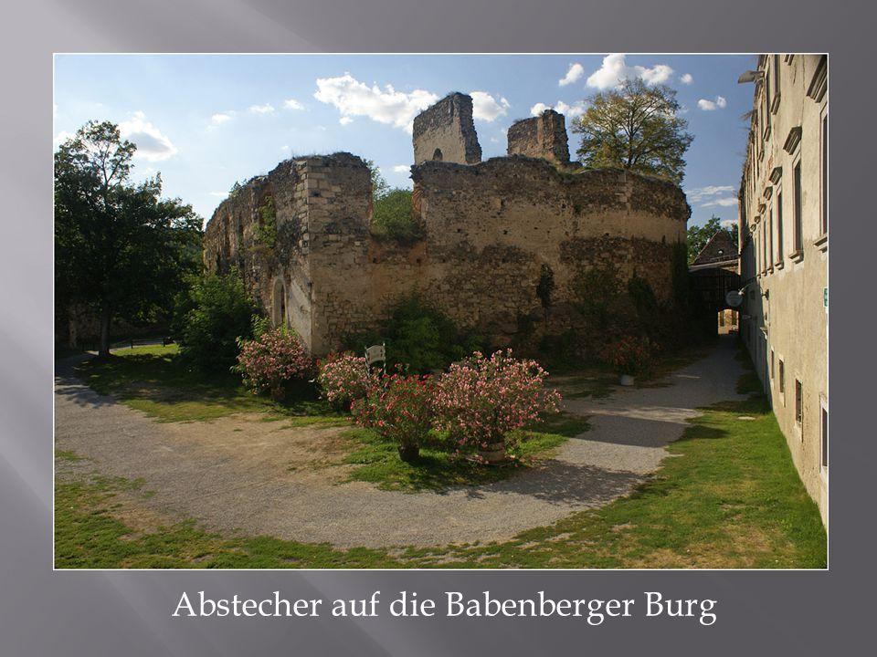 Abstecher auf die Babenberger Burg