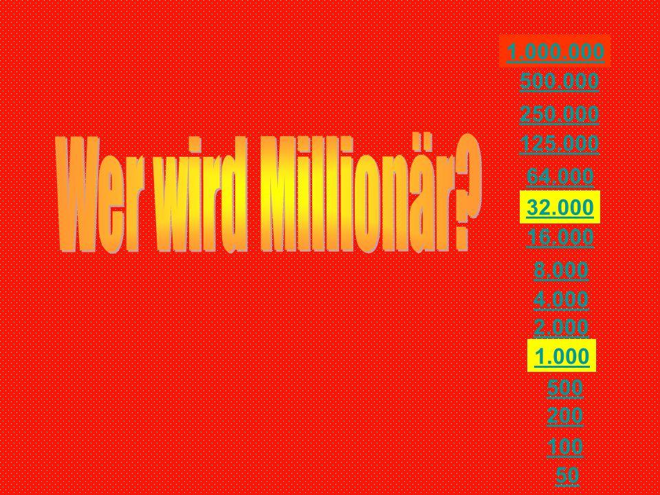 50 200 100 500 2.000 1.000 4.000 16.000 8.000 32.000 125.000 64.000 250.000 500.000 1.000.000