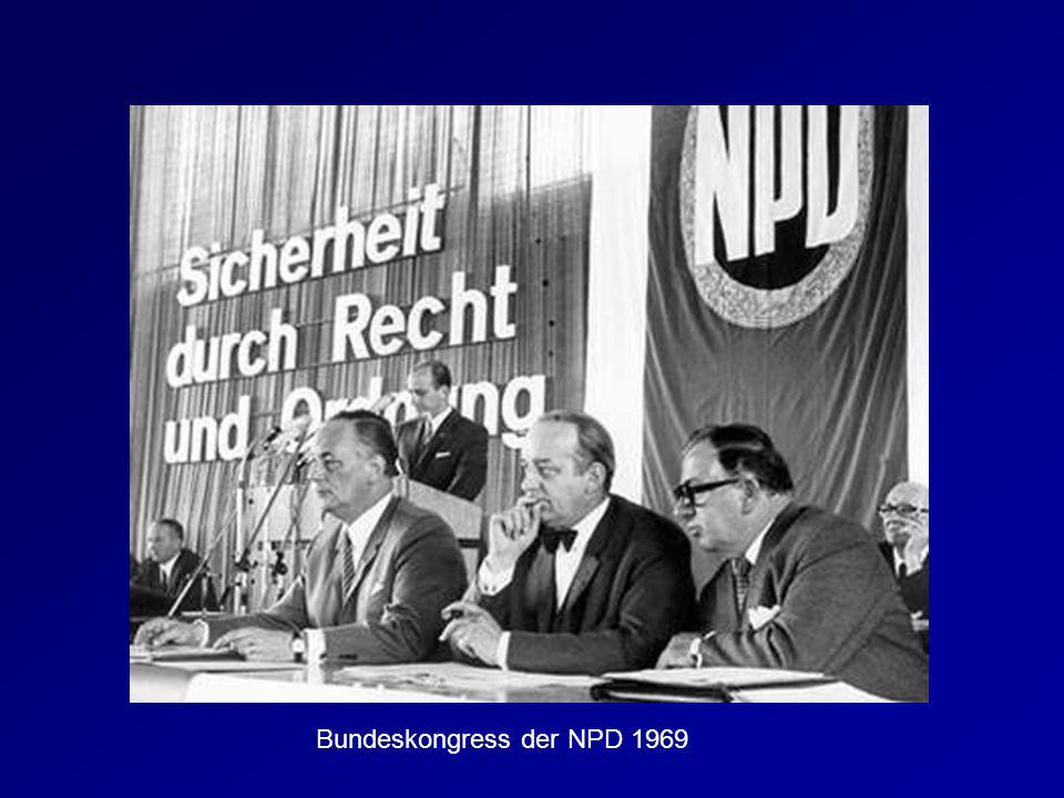 Bundeskongress der NPD 1969