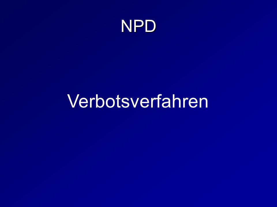 Verbotsverfahren NPD