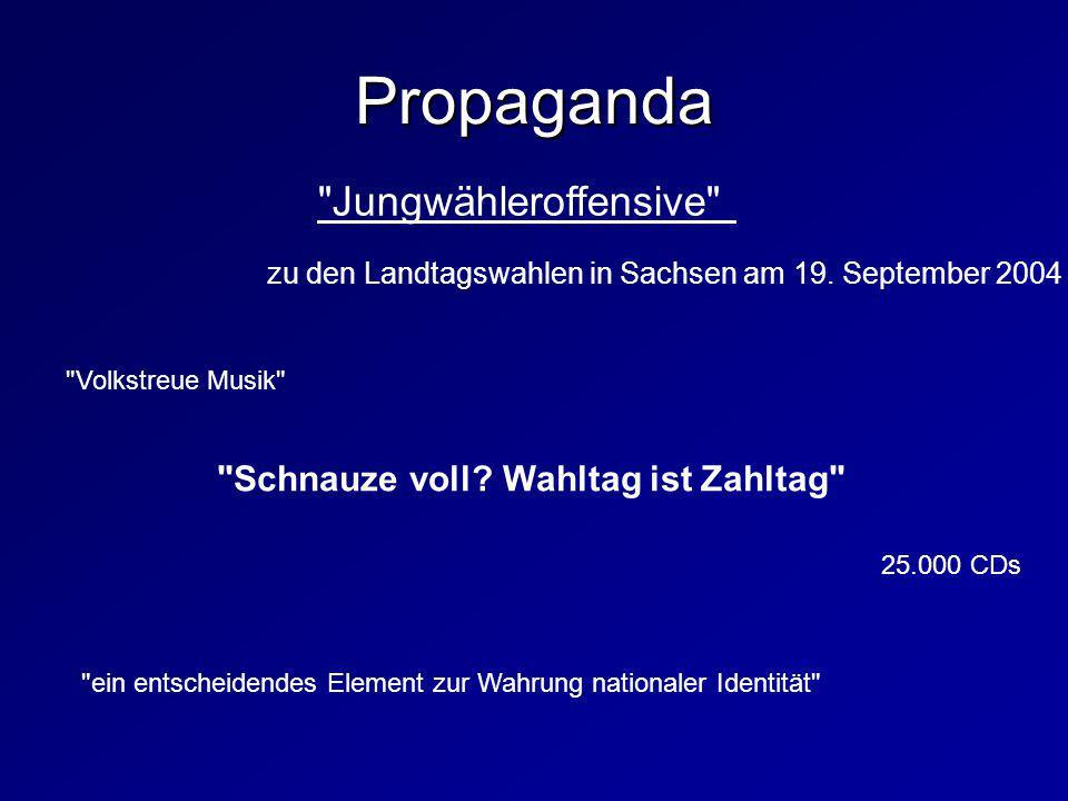 Jungwähleroffensive zu den Landtagswahlen in Sachsen am 19.