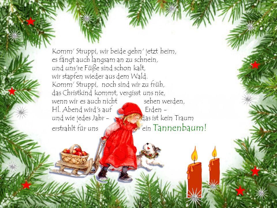 Ich wünsche Dir zur Weihnachtszeit nur Päckchen, die Dir machen Freud': Eingepackt zur Weihnachtszeit, findest Du Geborgenheit, frohen Mut und Zuversi