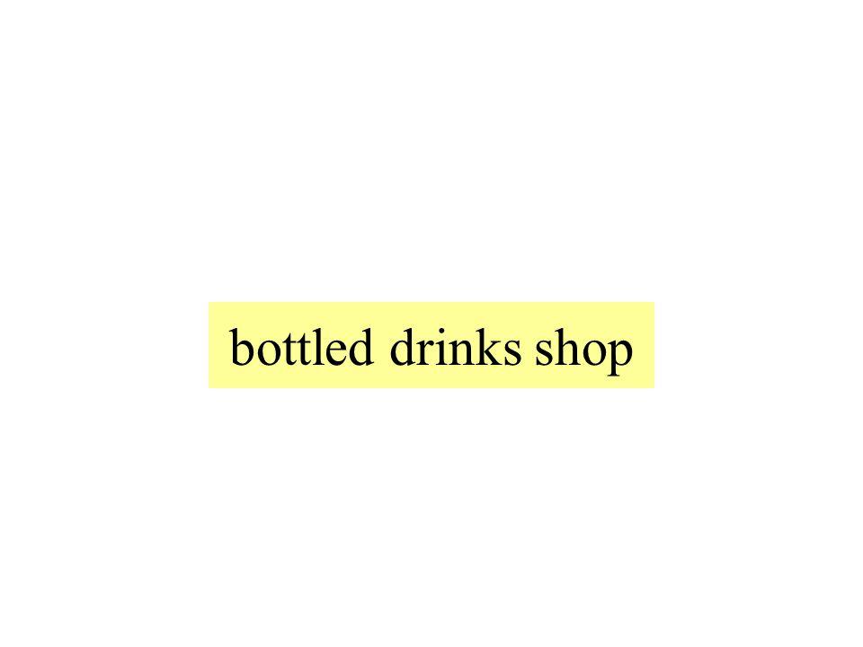 der Getränkemarkt