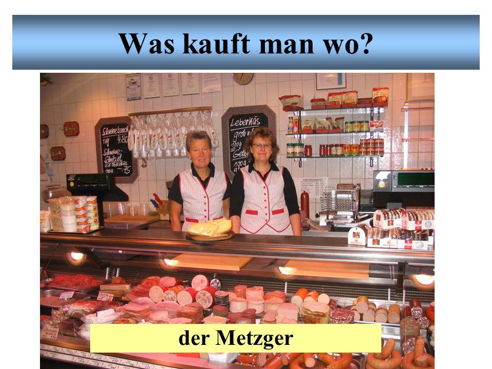 1.Beim Bäcker kaufe ich Neues Vokabular: Einkaufen Brot, Brötchen, Kuchen, Torte