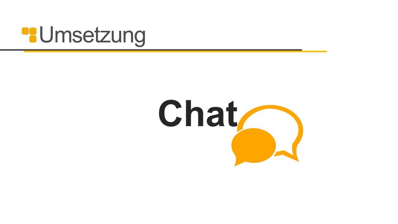 Umsetzung Chat