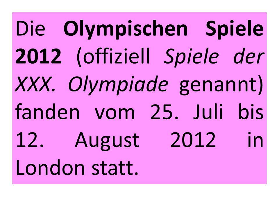 Zdroje a prameny 1.Olympische Sommerspiele 2012.In: Wikipedia: the free encyclopedia [online].
