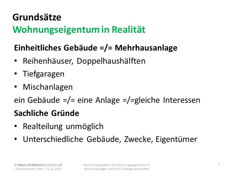 Checkliste II Beschlusskompetenz Mehrhausanlage 3.