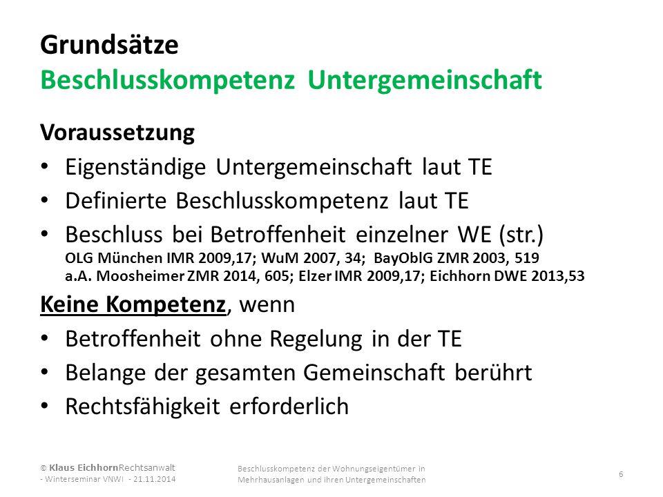 Beschlussvorschlag Teil 1 Instandsetzungsauftrag/Sonderumlage (UG) Nach § 12 der Teilungserklärung der WEG Hauptstraße 12 – 35 vom 21.05.2001(Notarin Elke Kötter UR Nr.