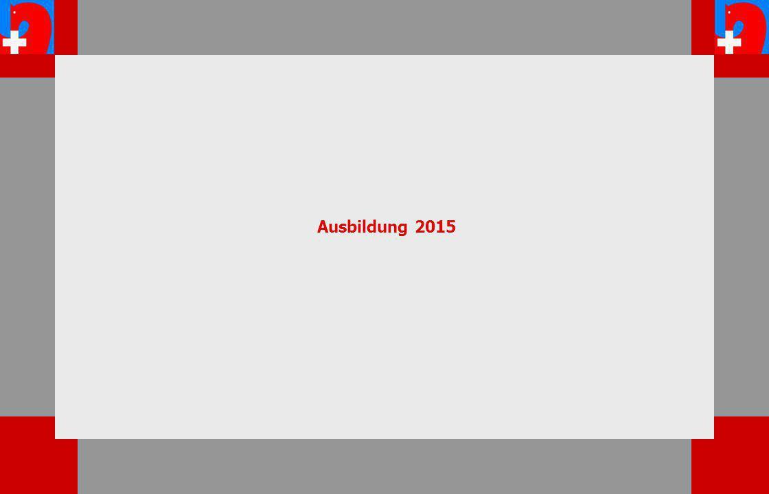 Ausbildung 2015