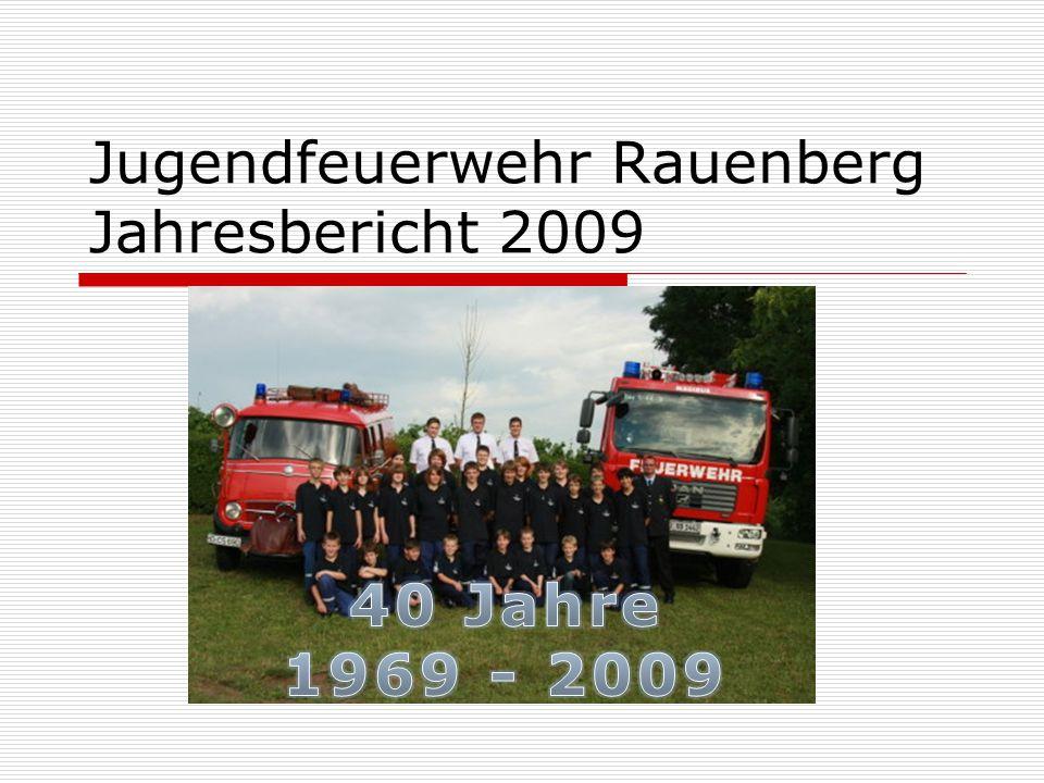 Jugendfeuerwehr Rauenberg Jahresbericht 2009
