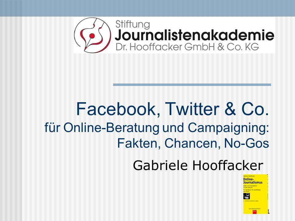 1 Facebook, Twitter & Co.