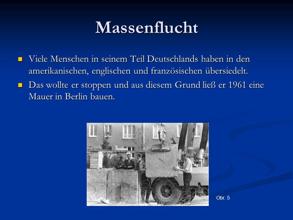 Massenflucht Viele Menschen in seinem Teil Deutschlands haben in den amerikanischen, englischen und französischen übersiedelt. Viele Menschen in seine