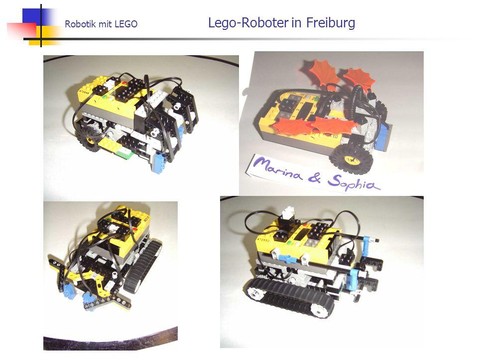 Robotik mit LEGO Lego-Roboter in Freiburg