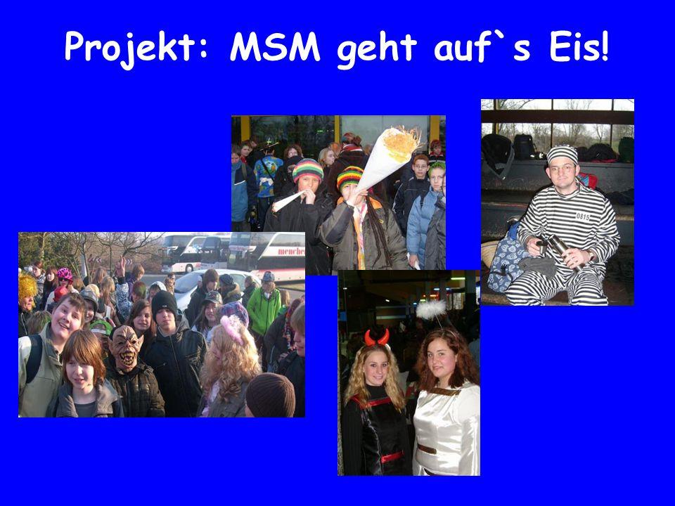Projekt: MSM geht auf`s Eis!