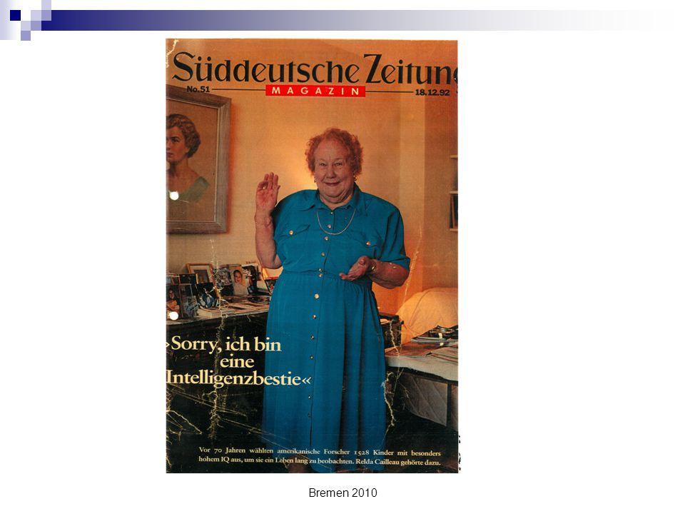 Bremen 2010 Überspringen von Klassen Tschechische Republik Für das Überspringen ist die Empfehlung eines Psychologen nötig.