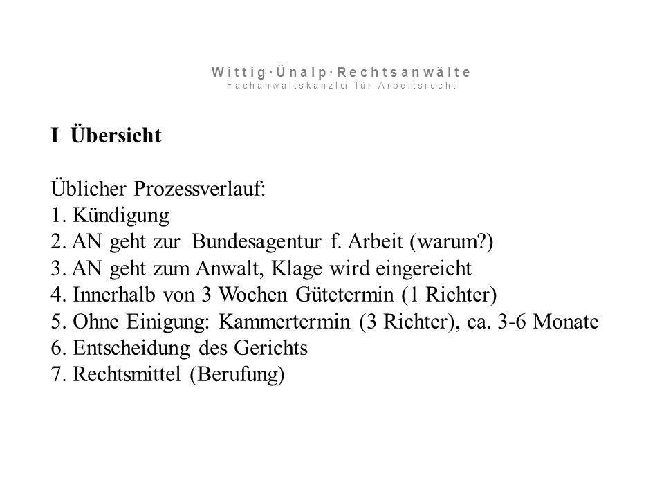VII Personenbedingte Kündigung III Alkohol 2) Untersuchung nach Einstellung Zw-Ergebnis: Bei Auffälligkeiten im Betrieb wie Alkoholisierung/ Drogenmissbrauch o.