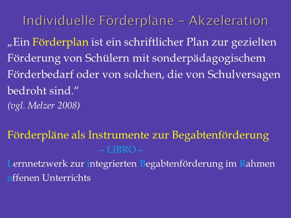 """""""Ein Förderplan ist ein schriftlicher Plan zur gezielten Förderung von Schülern mit sonderpädagogischem Förderbedarf oder von solchen, die von Schulve"""