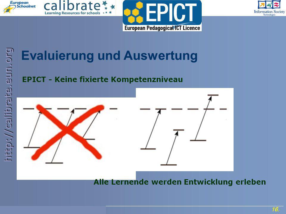 http://calibrate.eun.org 16. Project Meeting, 7- 8 September 2006.