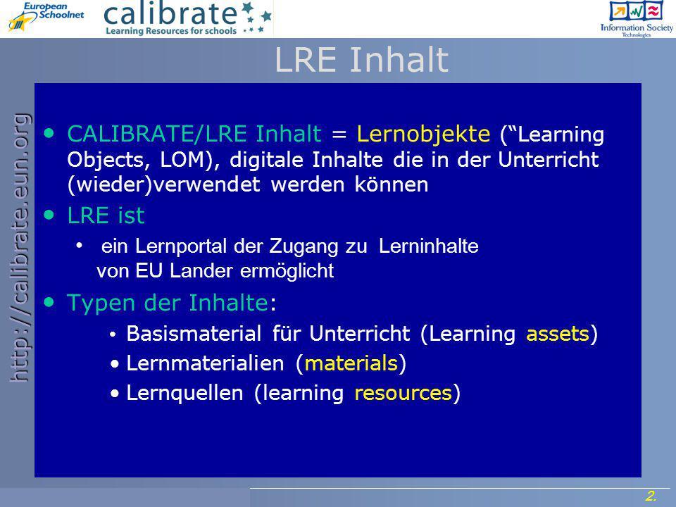 http://calibrate.eun.org 3.Project Meeting, 7- 8 September 2006.