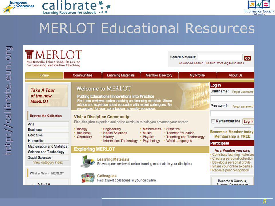 http://calibrate.eun.org 16.Project Meeting, 7- 8 September 2006.