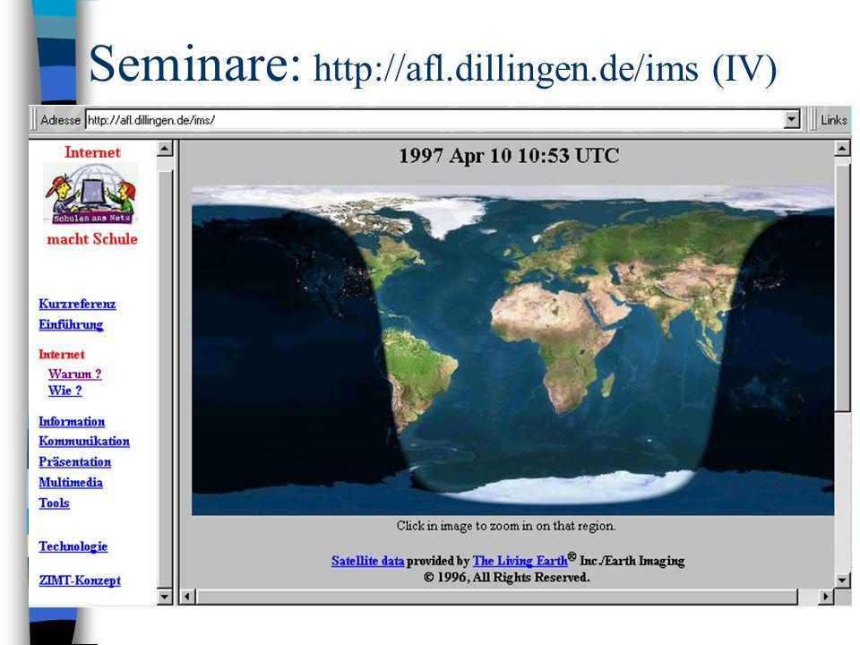 Seminare: http://afl.dillingen.de/ims (IV)