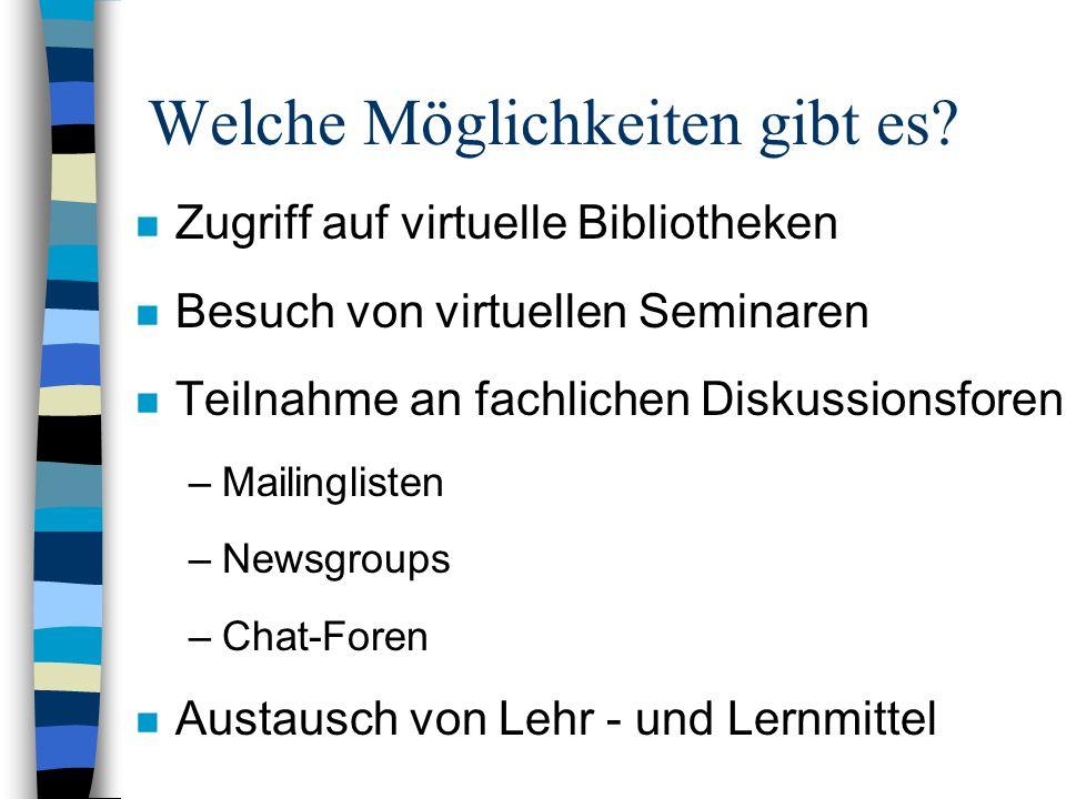 Bildungsserver: http://www.san-ev.de (I)