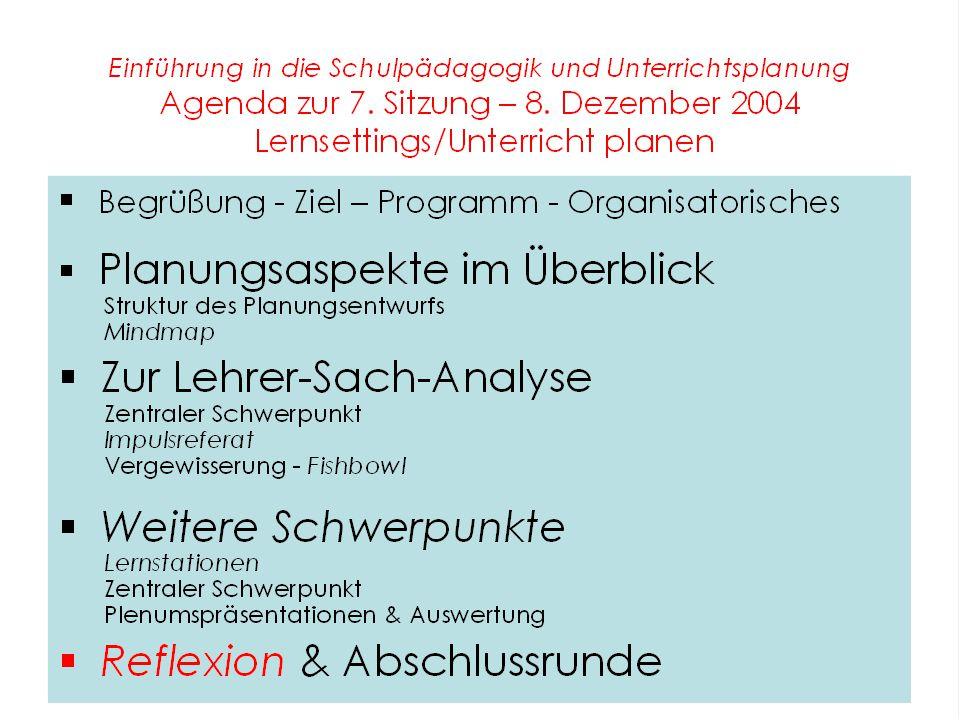 Organisatorisches Planungsworkshop Termin Freitag, 10.