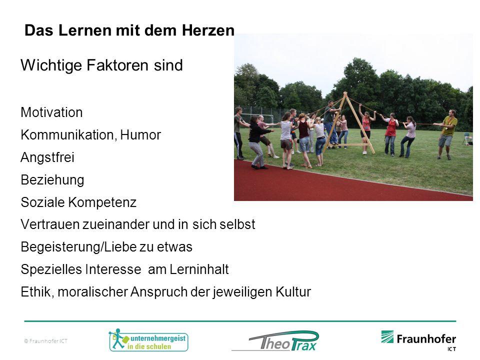 © Fraunhofer ICT Lerneffizienz – Vergleich: Frontal vs.