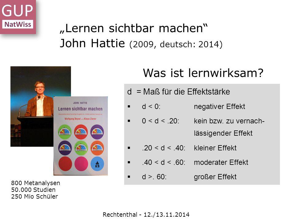 Wie man Anforderungen steuern kann Rechtenthal - 12./13.11.2014 Im sog.
