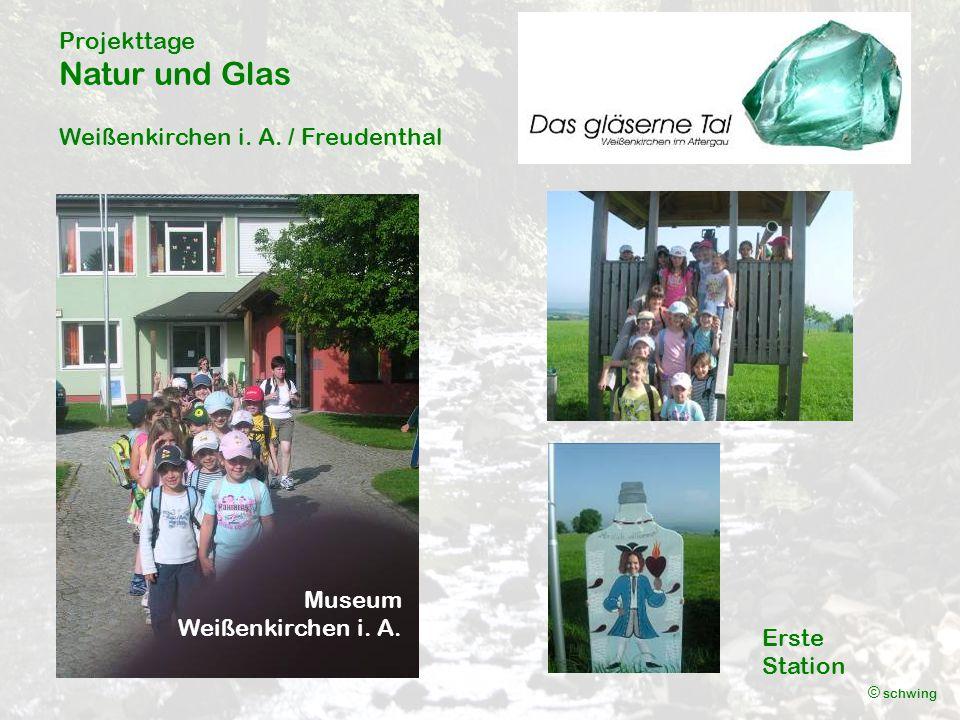 Projekttage Natur und Glas Weißenkirchen i. A. / Freudenthal © schwing Museum Weißenkirchen i.