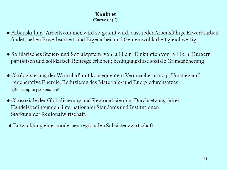 22 Sozialethische Grundlage: Das ganzheitliche Menschenbild und Lebensverständnis 1.