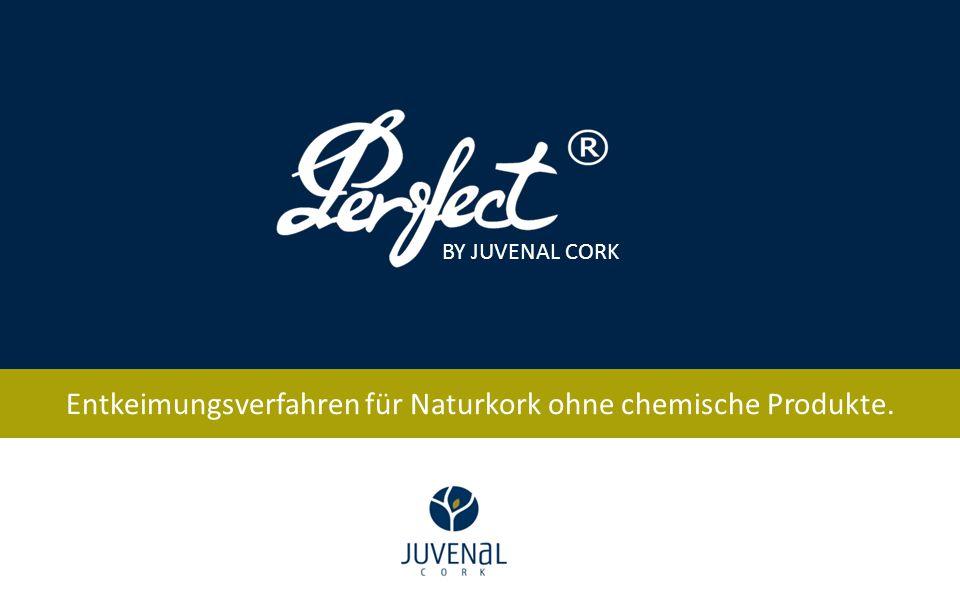 Entkeimungsverfahren für Naturkork ohne chemische Produkte. BY JUVENAL CORK