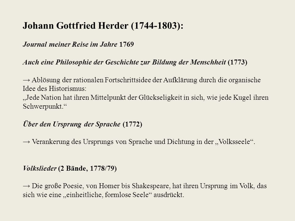 Johann Georg Hamann (1730-1788): Wegbereiter des Sturm und Drang Aesthetica in nuce.