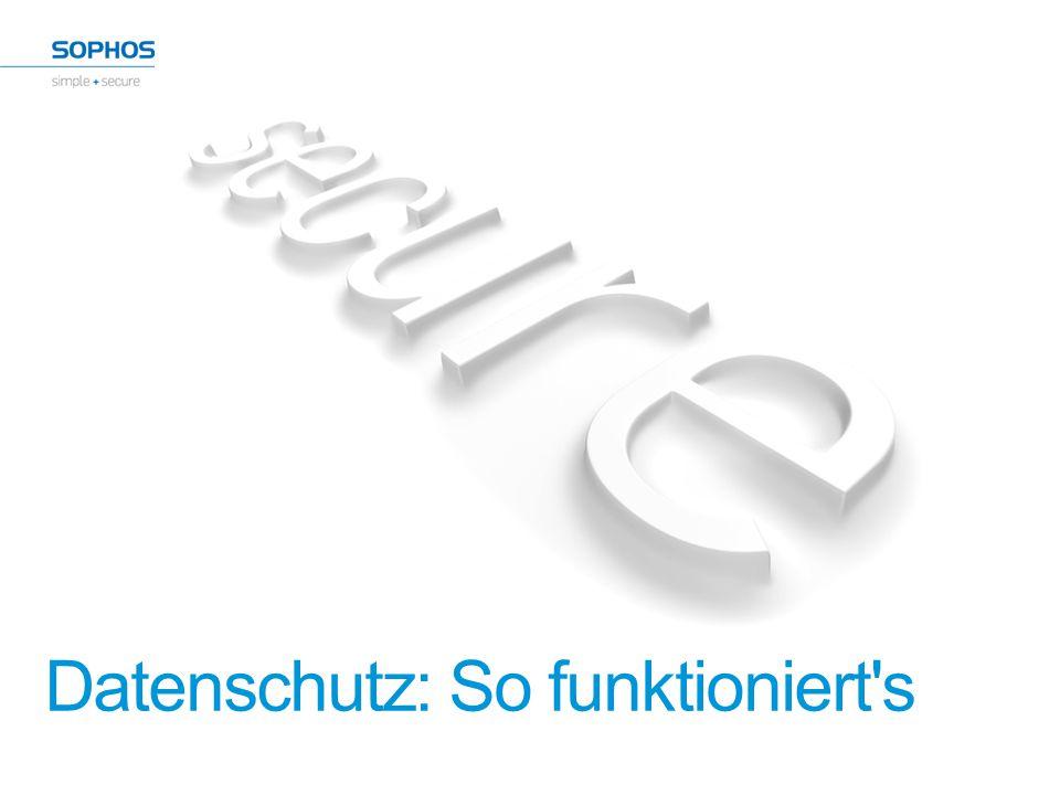 Weitere Informationen +49 611 5858-0 E-Mail: sales@sophos.de sophos.de/products 22