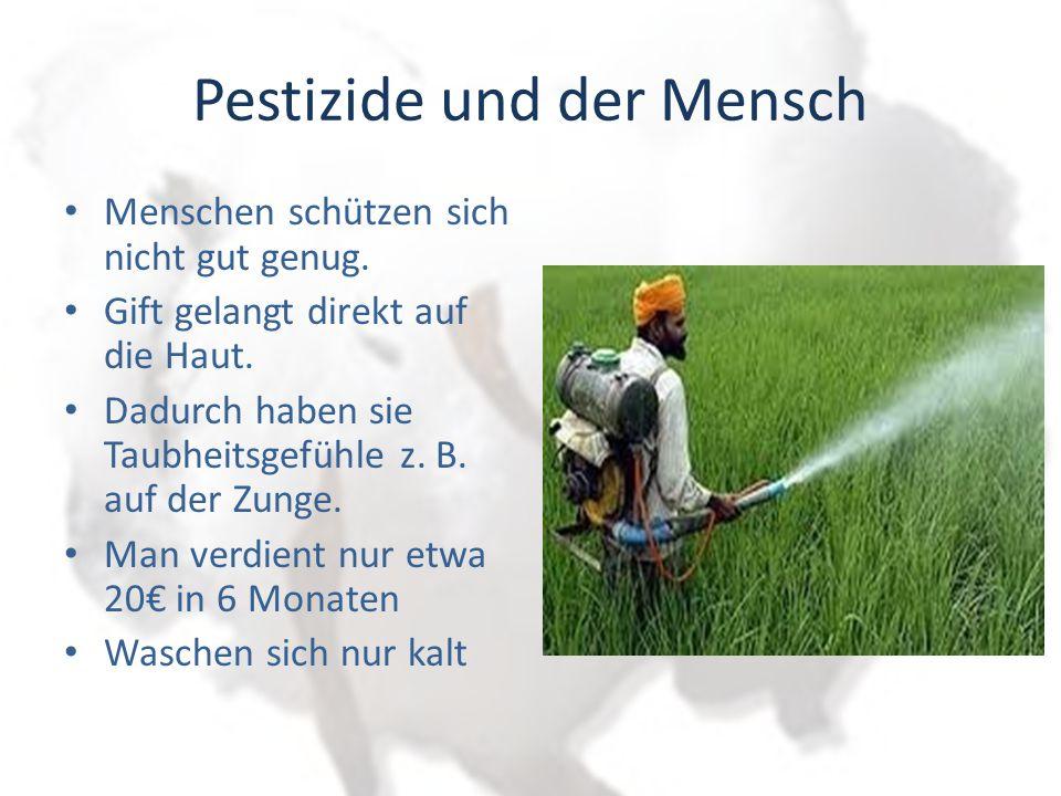 Auswirkungen auf den Menschen Vergifteter Bauer wegen Landarbeit Bild: Bauer auf der Intensivstation