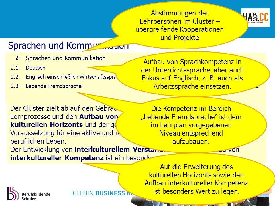Sprachen und Kommunikation 2.