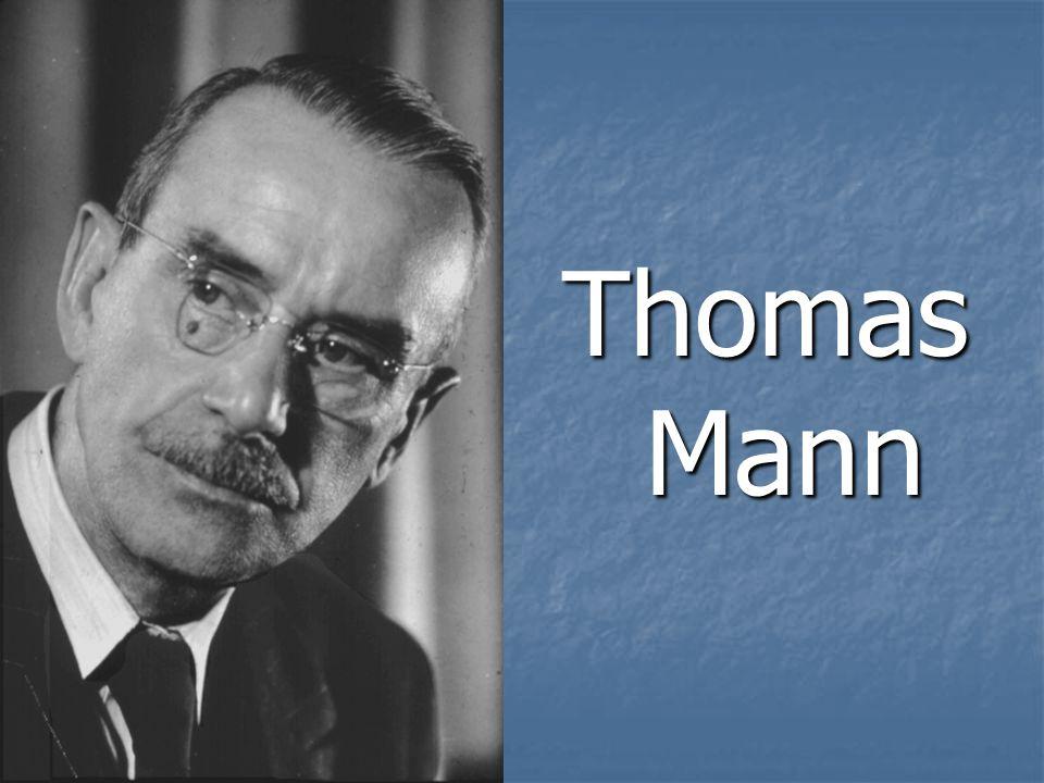 Thomas Mann – der deutsche Schriftsteller, Kritiker, einer der berühmtesten Persönlichkeiten des literarischen Lebens der erste Halfte des 20 Jahrhunderts.