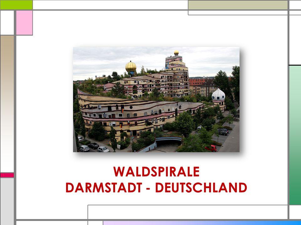 WALDSPIRALE DARMSTADT - DEUTSCHLAND