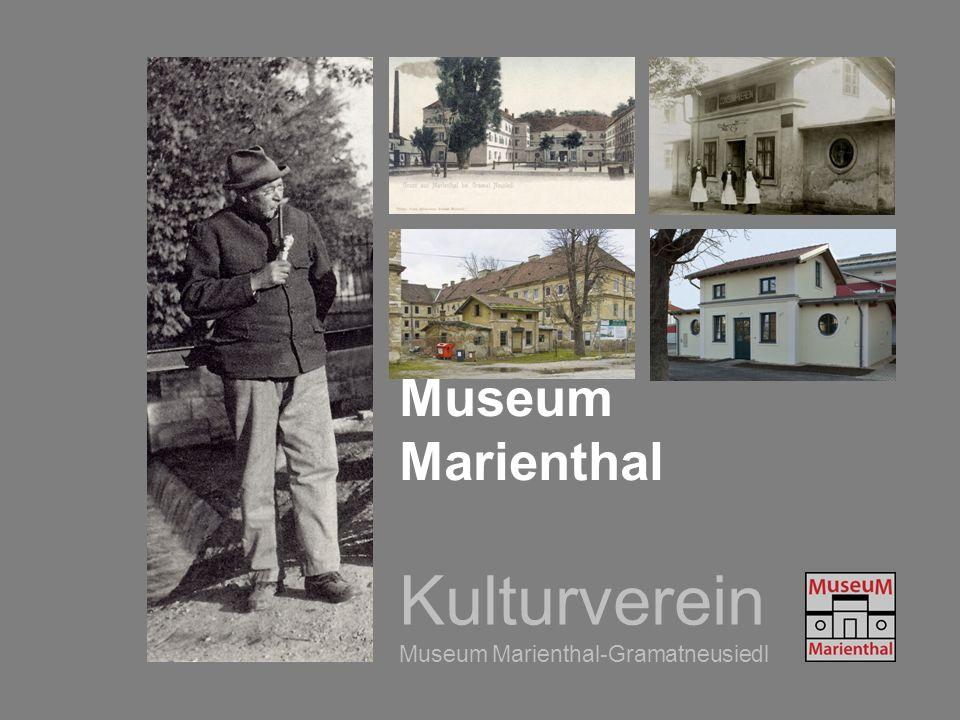 Museum Marienthal Kulturverein Museum Marienthal-Gramatneusiedl