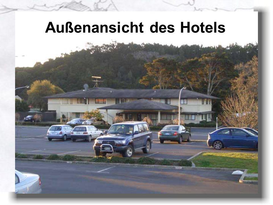 Die erste Woche Albany OAK Motel in Northshore Auckland Entfernung zur Arbeitstätte ca. 1km