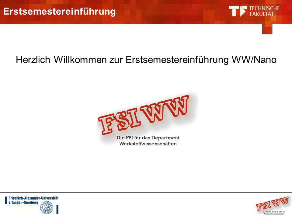 Vorstellung FSI Feiern Ersti-Bier und Brezen (Ende Oktober/Anfang Nov) FSI WW Glühweinfest (Mitte Dezember) Sommerfest Werkstoffwissenschaften (Juni/Juli)