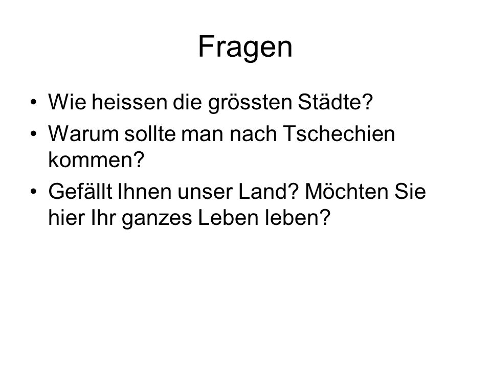Zdroje http://www.auswandern-info.com/tschechien/karte.html