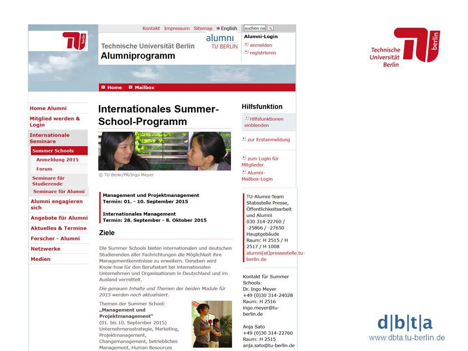 d b t a www.dbta.tu-berlin.de Präsentationstitel Blindtext Lorem ipsum dolores   M. Mustermann   Anlass der Präsentation Seite 6