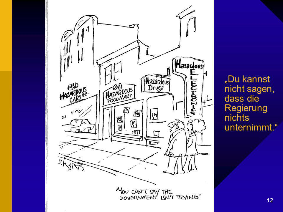 """Dr. G. Mackenthun, Berlin - 7. Mai 2003 12 """"Du kannst nicht sagen, dass die Regierung nichts unternimmt."""""""